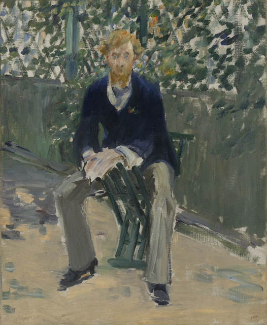 Édouard Manet, 'George Moore in the Artist's Garden', ca. 1879, National Gallery of Art, Washington, D.C.