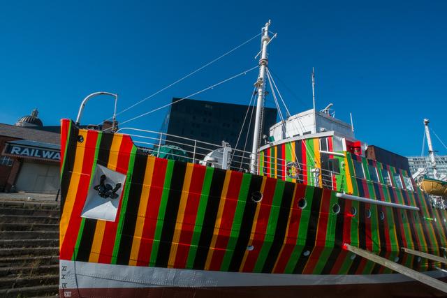 Carlos Cruz-Diez, 'Dazzle Ship,' 2014, Liverpool Biennial