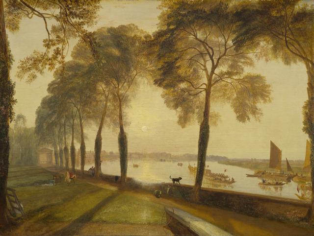 J. M. W. Turner, 'Mortlake Terrace', 1827, National Gallery of Art, Washington, D.C.