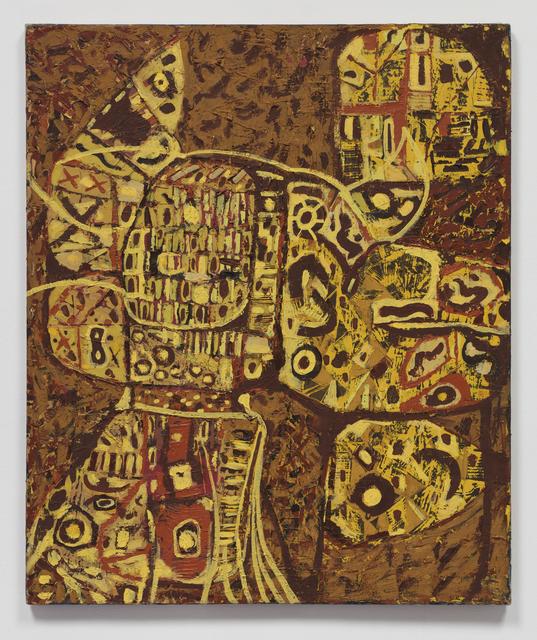 , 'Back Log,' 1948, James Cohan