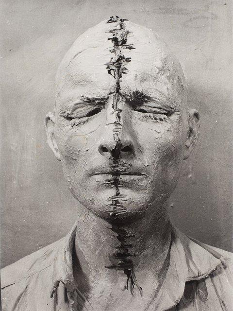 , 'Kopfbemalung, Aktion, Wien,' 1964, Richard Saltoun