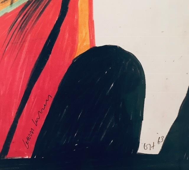 David Hockney, 'The Singer, 1963', 1994, Mr & Mrs Clark's
