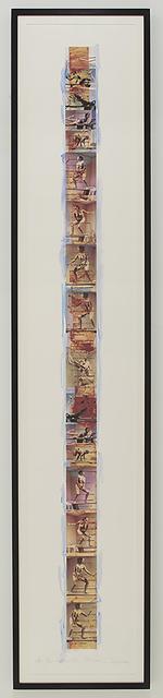 , 'Blue - Interior Scroll,' 1975/2006, P.P.O.W