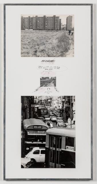 Ugo La Pietra, 'Itinerari preferenziali', 1969, Galleria Bianconi