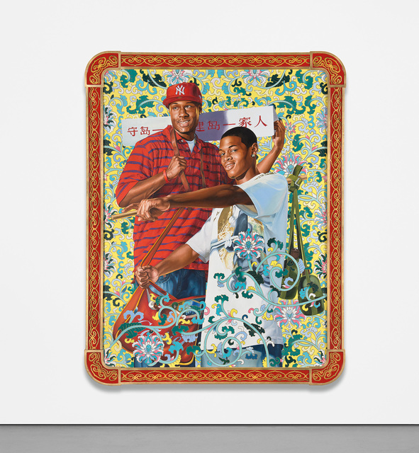 Kehinde Wiley, 'Defend and Develop the Island Together', 2006, Phillips