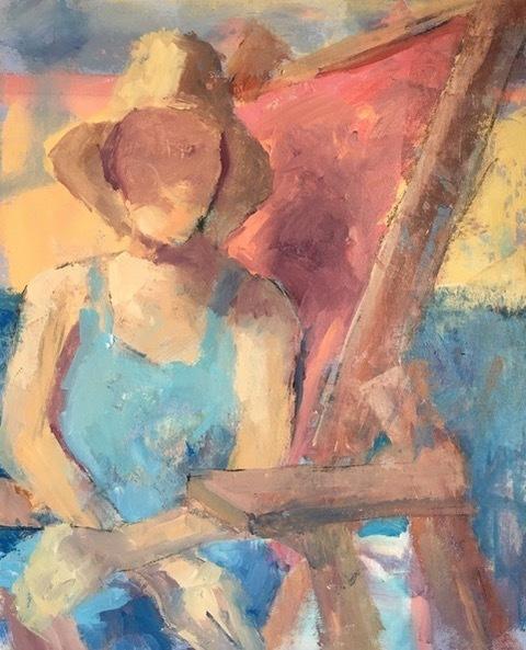 , 'Beach Day,' 2017, Solace Studio + Gallery & Contour 19