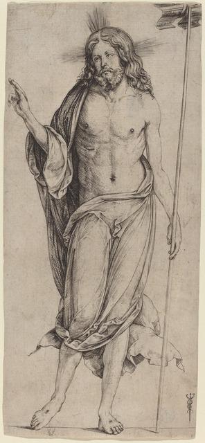 Jacopo de' Barbari, 'The Risen Christ', ca. 1503/1504, National Gallery of Art, Washington, D.C.