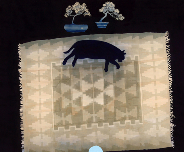 , 'Cat on Rug with Bonsai,' 2016, parts gallery