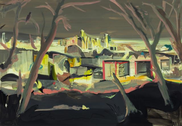 , 'Muaksan Mountain Nightscape,' 2017, DOOSAN Gallery