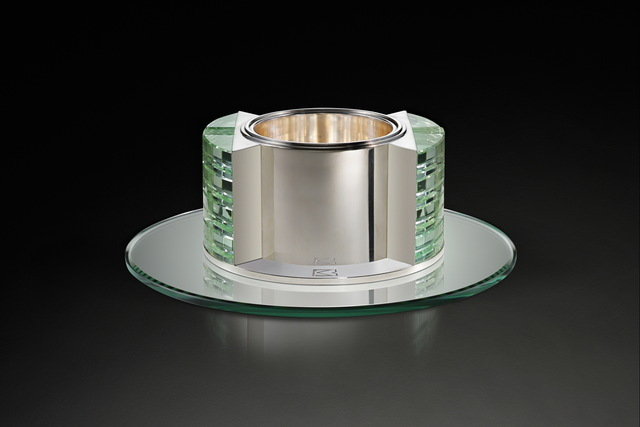 , 'Art Deco Centerpiece,' , Fine Art Silver