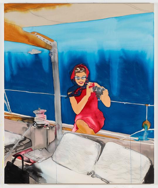 , 'Jackie on Boat,' 2018, C O U N T Y