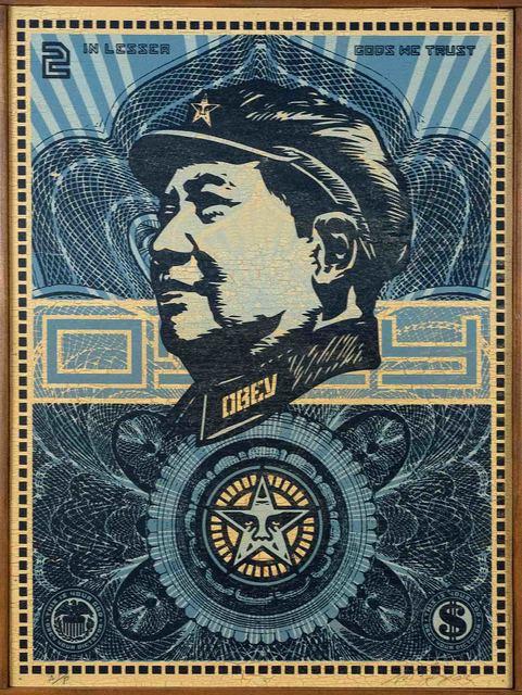 Shepard Fairey (OBEY), 'Mao Money', 2003, Doyle