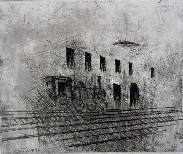 Sergei Balenok, 'Waiting Hall', 2017, Ma.Ma. Art Gallery