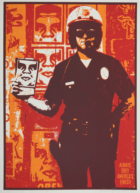 Shepard Fairey, 'Americas Finest', 2000, Chiswick Auctions