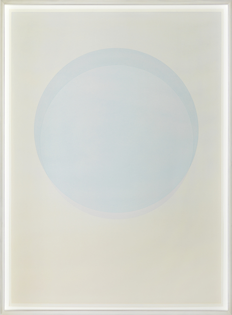 , 'Large watercolour blue circle,' 2015, PKM Gallery
