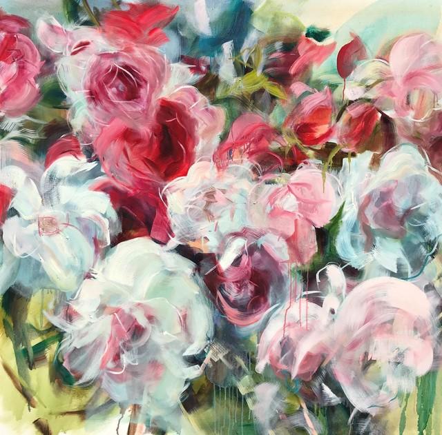 Jamie Evrard, 'Red Garden Study II', 2019, Bau-Xi Gallery