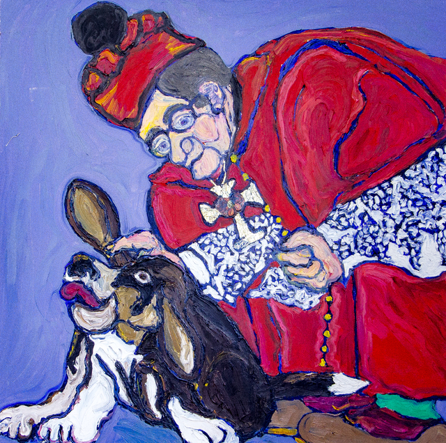 ", '""Catholic Bassett"",' ca. 1980, Untitled 2.0"