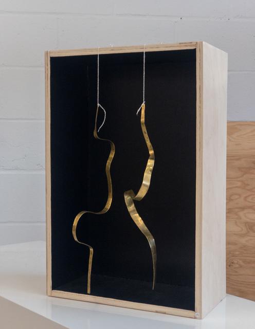 ", 'Hanging kinetic SCULPTURES by Jacques Jarrige ""Angel #14"",' 2017, Valerie Goodman Gallery"