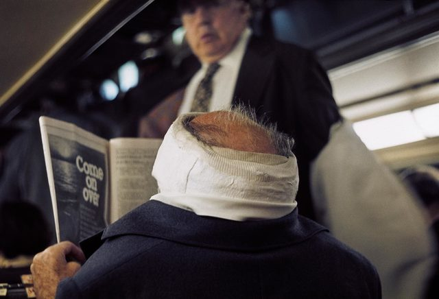 , '0117626, 1976, Man with Bandaged Head,' 2014, KP Projects
