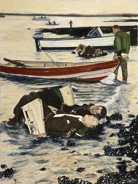, 'Electra Crash - Boston Harbor 1960,' 2000, DETOUR Gallery