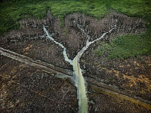 , 'Oil Bunkering #2, Niger Delta, Nigeria,' 2016, Sundaram Tagore Gallery