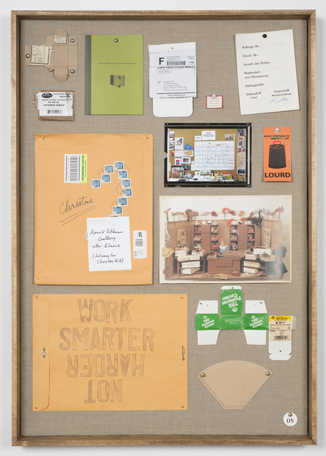 , 'Musterbrett (Sample Board) No. 8,' 2012, Ronald Feldman Gallery