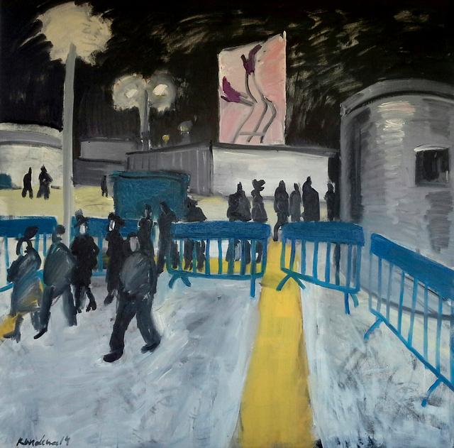 Olga Kundina, 'Vernissage', 2014, Painting, Oil on canvas, Rosenfeld Gallery