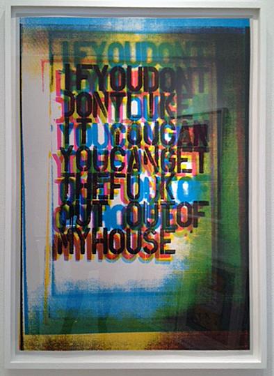 Christopher Wool, 'My House III', 2000, Galerie Maximillian