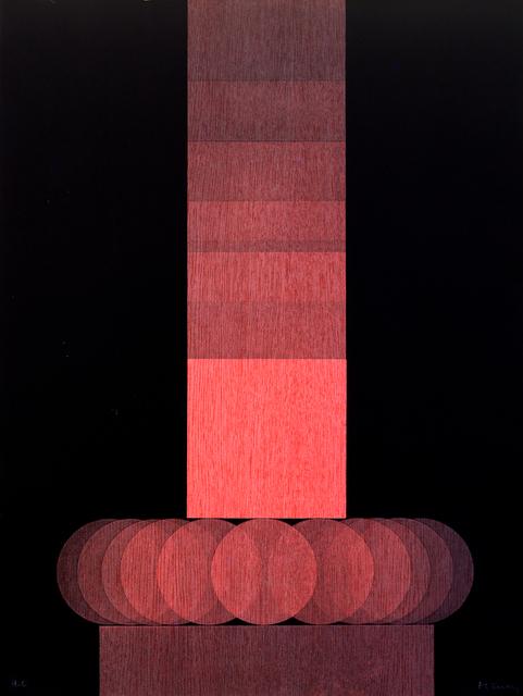 , 'Treize carrés sur cinq cercles,' 1979, Jules Maeght Gallery