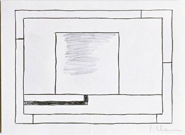 , 'Original Drawing (Untitled) from the Collection of Artist Bill Radawec (1952-2011),' ca. 1990, Alpha 137 Gallery
