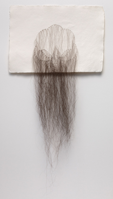 , 'Cotton With Hair,' 2017, Lisa Sette Gallery