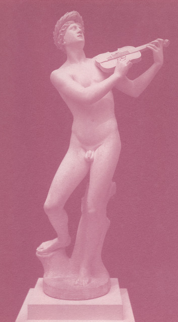 , 'Orpheus with violin, 1915,' 1991, Galerie Andrea Caratsch