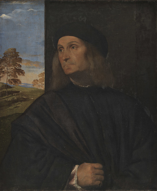 , 'Portrait of the Venetian Painter Giovanni Bellini,' 1511-1512, Statens Museum for Kunst