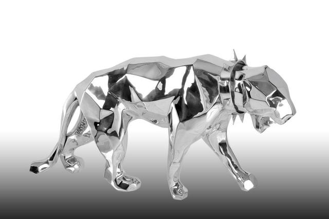 Richard Orlinski, ''Wild Neck Panther'', 2019, Kapopoulos Fine Arts