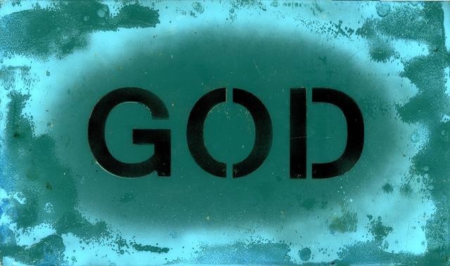 , 'GOD,' 2015, Woodward Gallery