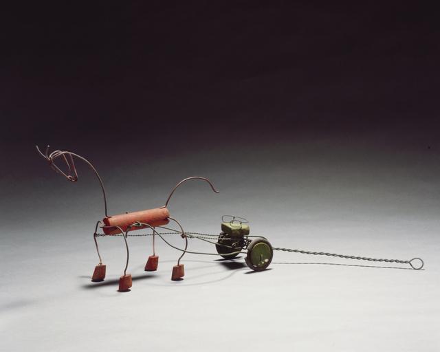 Alexander Calder, 'Red Horse and Green Sulky', 1926, Calder Foundation