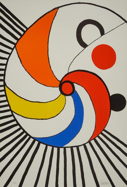 Alexander Calder, 'Spirale Multicolore', Hindman