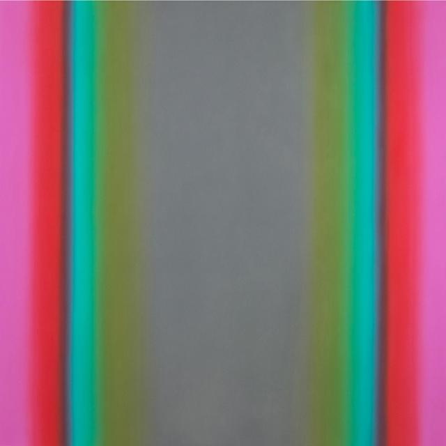 , 'Witness 9-S7272, (Red Green Gray), Witness Series,' 2016, Brian Gross Fine Art