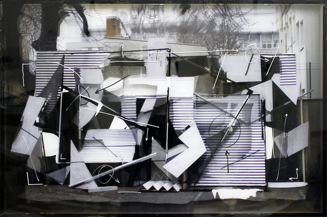 , 'Hinterhofinstallation, revisited,' 2016, Mini Galerie
