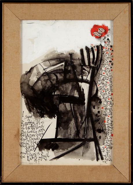 Abraham Rattner, 'I Saw a Butterfly', 1954, Reis Studios