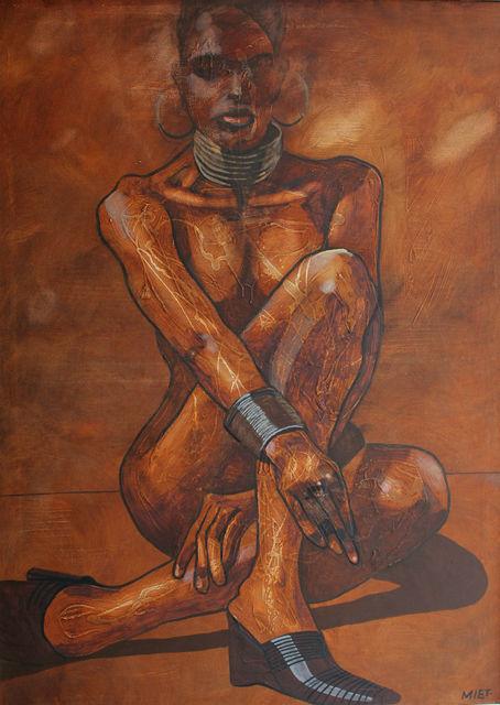 , 'Sitting woman,' , Gallery Katarzyna Napiorkowska | Warsaw & Brussels