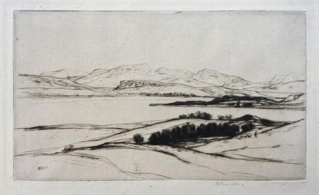 Sir David Young Cameron, 'Shuna', 1914, Hans den Hollander Prints