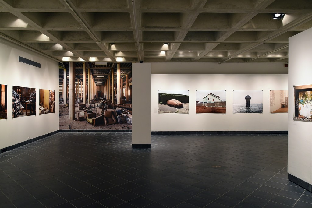 The Past is a Foreign Country. Cantor Fitzgerald Gallery 2015. Photo: Lisa Boughter
