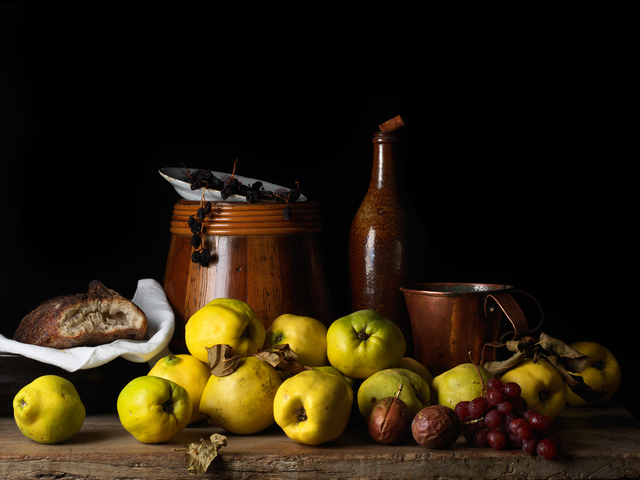 , 'Still Life with Quince and Jug, after L.M. (from the series Bodegón),' 2014, Robert Klein Gallery