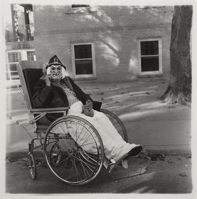 , 'Masked Woman in a Wheelchair, Pennsylvania,' 1970, Etherton Gallery