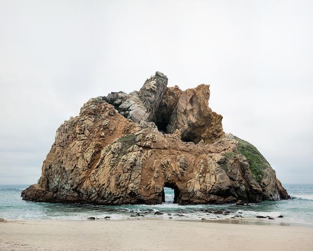 , 'Response to Print of Pfeiffer Beach, California,' 2014, De Soto Gallery