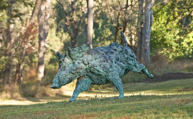 Mark Coreth, 'Running boar', 2012, Sladmore Contemporary