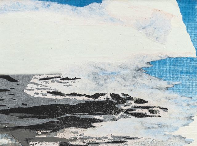 Gottfried Salzmann, 'La falaise blanche', 2019, Galerie Arcturus