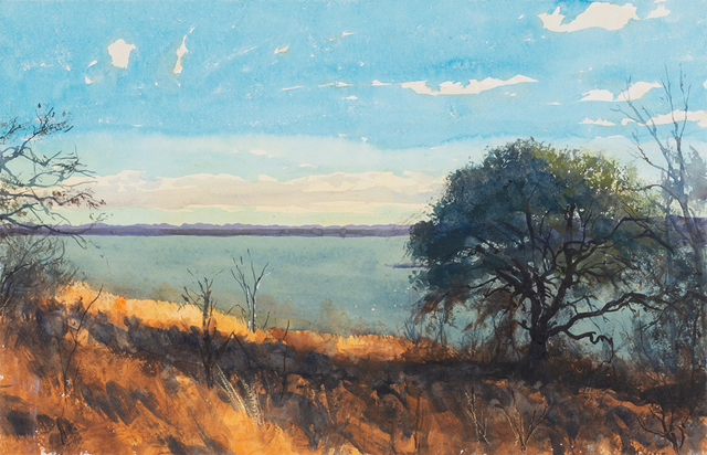 Bob Stuth-Wade, 'Late Afternoon, Proctor Lake, TX', 2018, Valley House Gallery & Sculpture Garden
