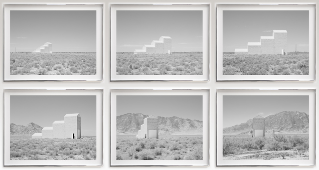 , 'Air Force Targe Grid Building,' 2014, Haines Gallery